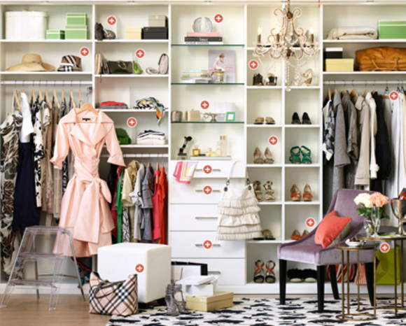 dressing room by california closets