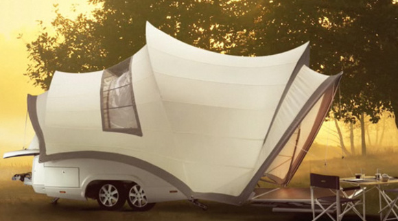 opera folding camper :: next step of glamping