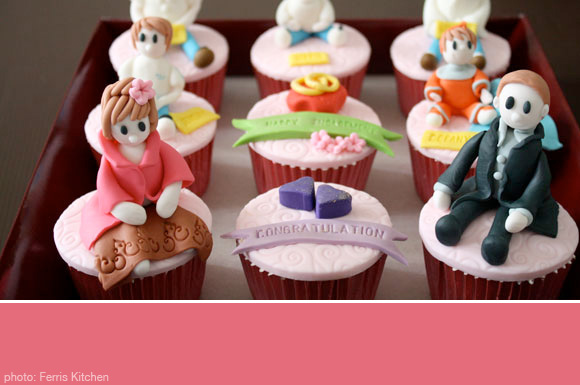 Engagement Party Cupcakes At Home With Kim Vallee