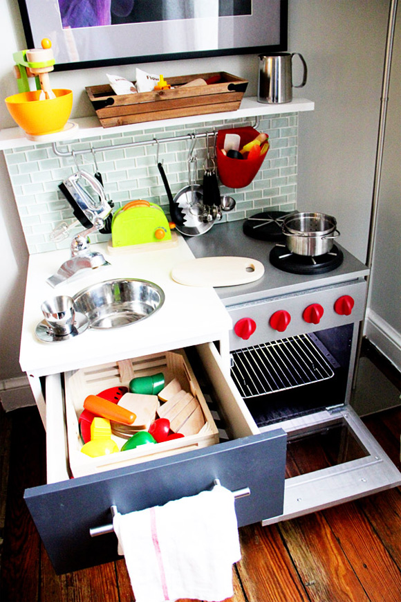 play kitchens for boys american standard kitchen faucet i want diy a boy at home with kim vallee