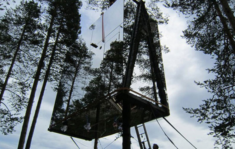 Tree House Design Ideas From Nature In Sweden Harad – Athome201 Net