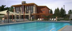Colliers Hill, Erie - Amenity center and pool