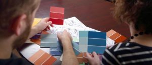 Interior designers say color arguments are easy to fix.