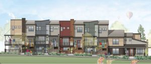 Rendering of the Downtown East Louisville (DELO) community.