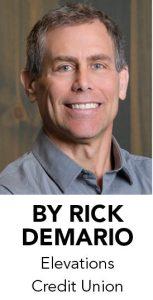 Rick DeMario, Elevations Credit Union