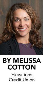 Melissa Cotton, Elevations Credit Union