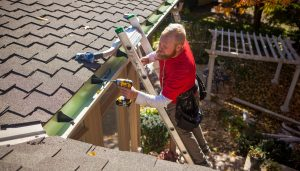 Going above and beyond is their norm at K-Guard. For example during installation when they remove the downspout and find that the house painter missed that section, they'll paint it. Just because. (Photo courtesy: K-Guard)