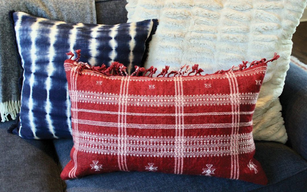 The Lighter Side: And Now for Some Soft News: In Praise of Accent Pillows