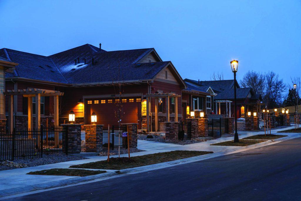 Lanterns at Rock Creek in Superior Colorado.