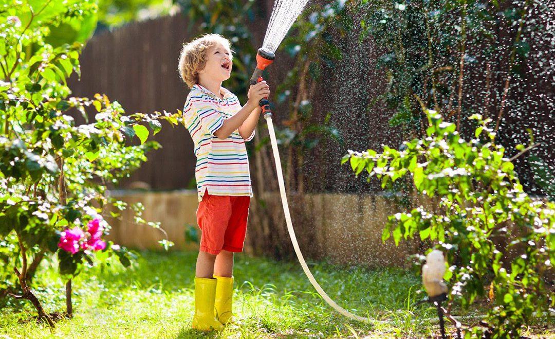 "The Lighter Side: The pee garden: A ""garden"" only little children could create"