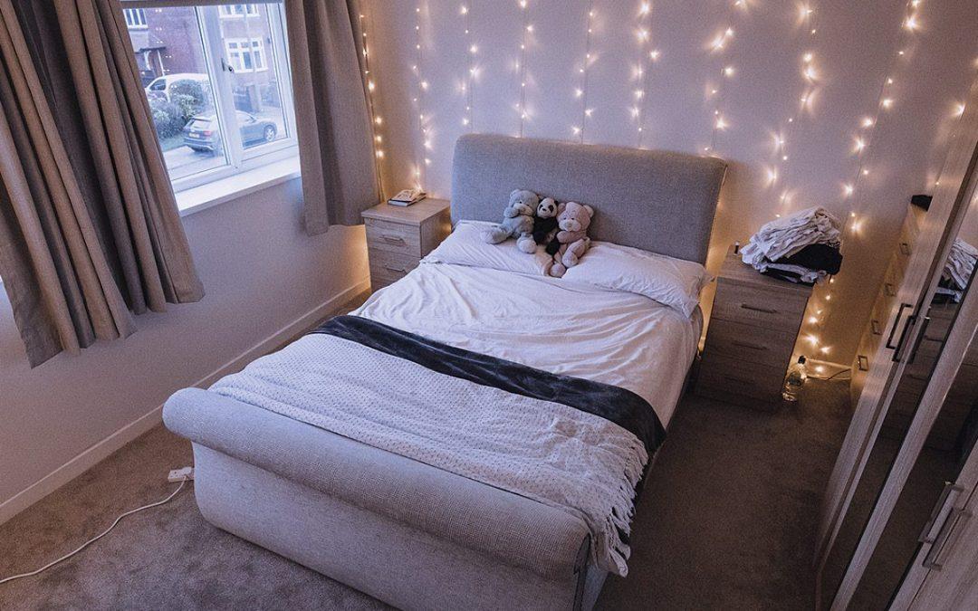 Your childhood bedroom staples are now trendy dorm decor