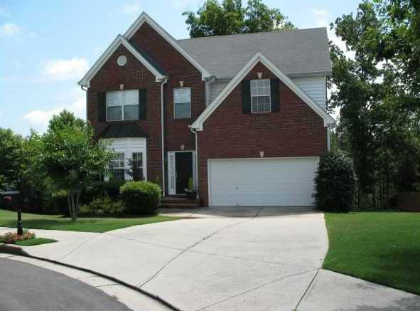 Buford GA Homes In Cascade Falls Subdivision