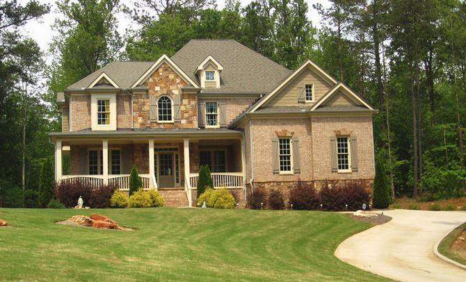 Greenbelt Canton GA Neighborhood Home Orange Shoals