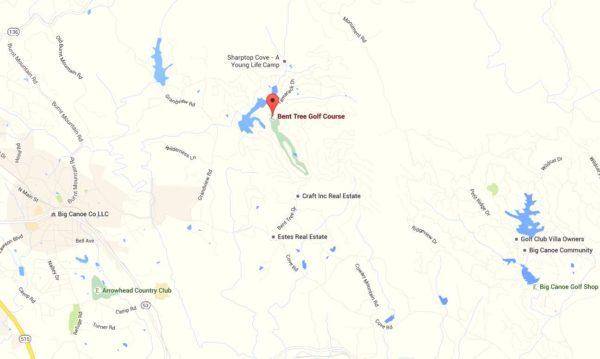 Jasper Georgia Map Location Bent Tree Community