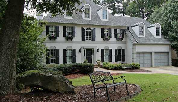 City Of Marietta House In Ashebrooke Subdivision