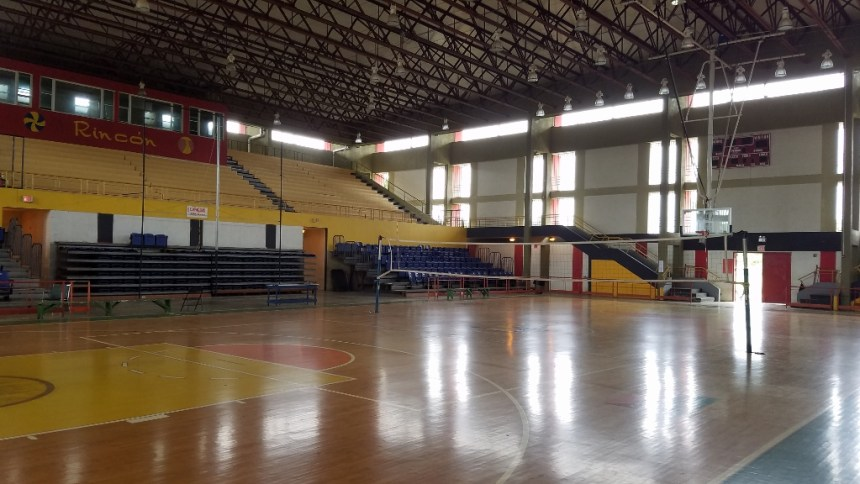 basketball in puerto rico - rincón multi-use coliseum