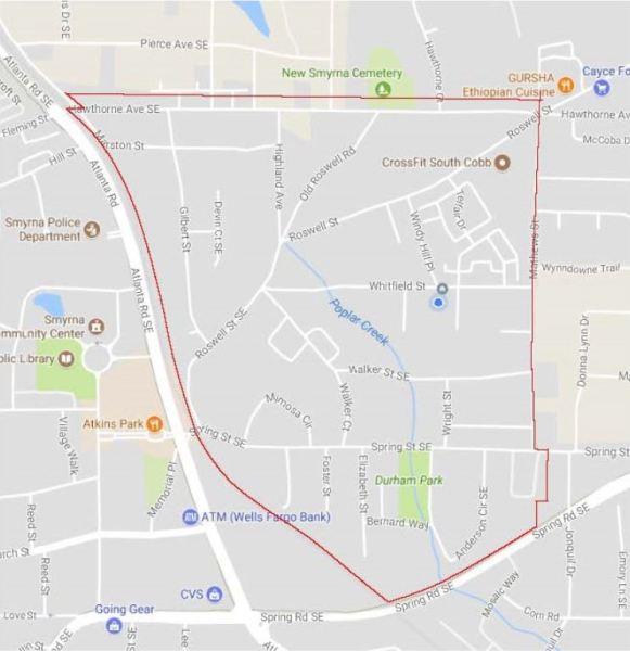 Williams Park Neighborhood Map Location