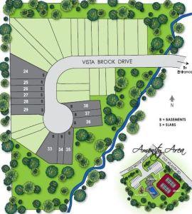 Site Plan Hillside Trace Suwanee