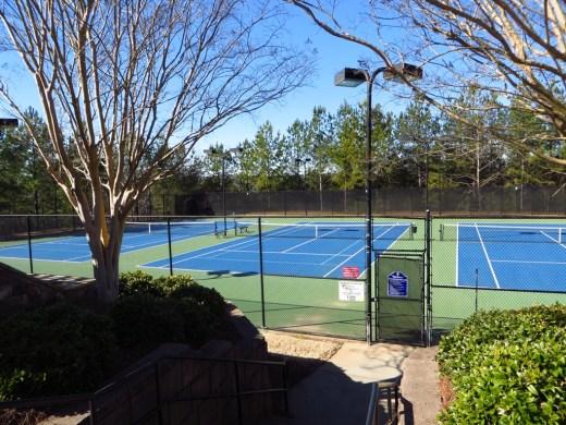 Tennis Courts In Edinburgh