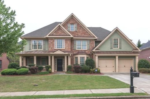 Suwanee Georgia Home In Ashleigh Walk