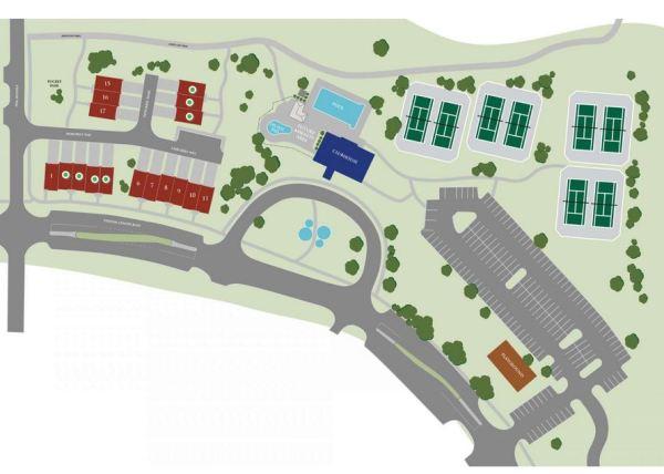 Suwanee GA Townhomes Site Plan Enclave At Suwanee Station
