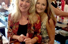 Team Roberts: Pam and Tiffany Roberts