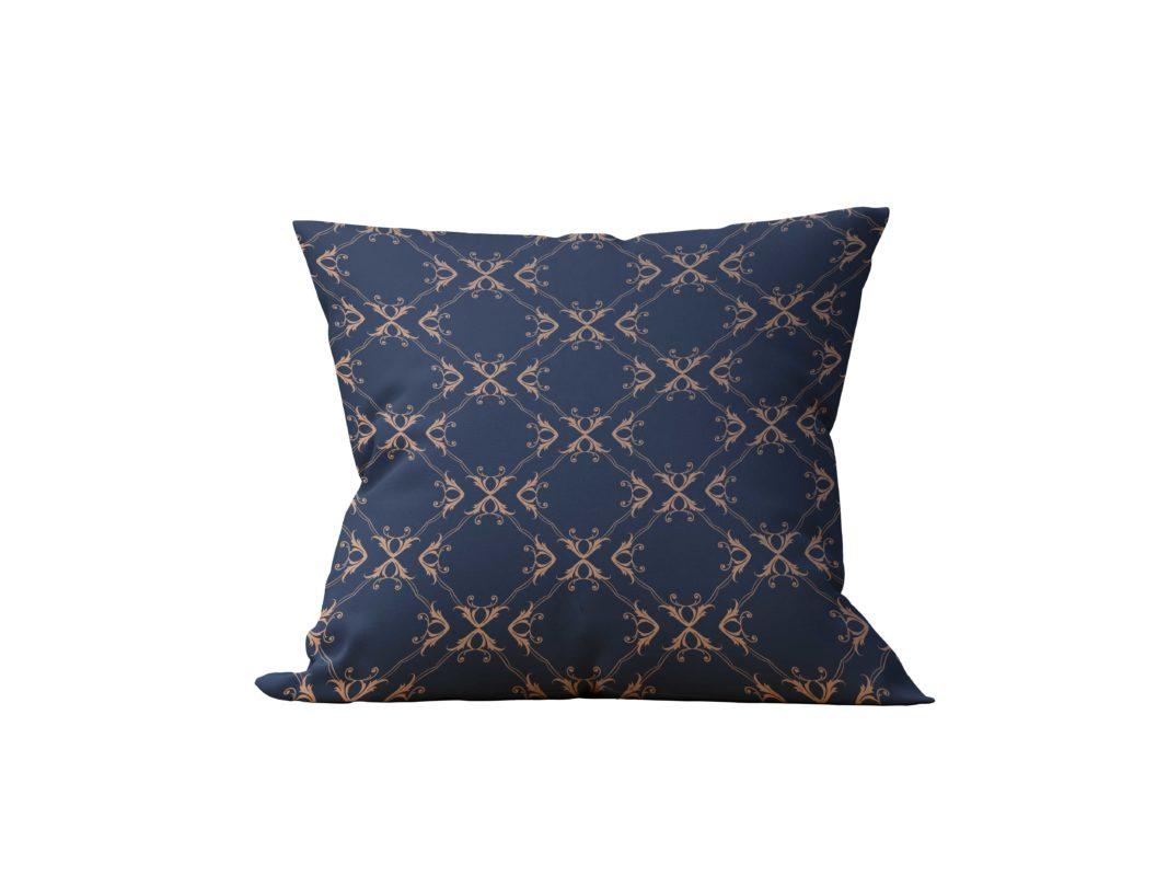 Almofada Decorativa Realeza in Bleue - 45x45 - by #1 AtHome Loja