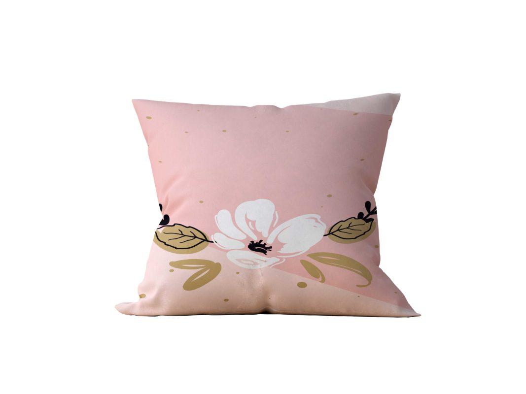 Almofada Decorativa Rose Flower - 45x45 - by #1 AtHome Loja