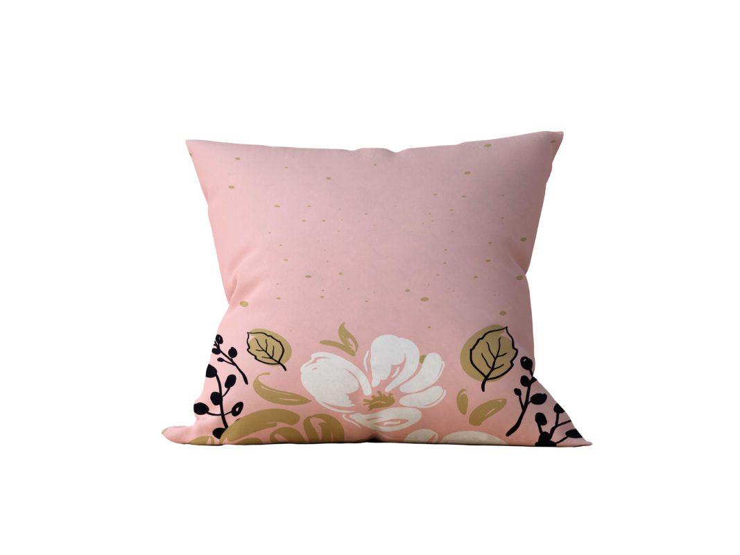 Almofada Decorativa Rose Flower Neo - 45x45