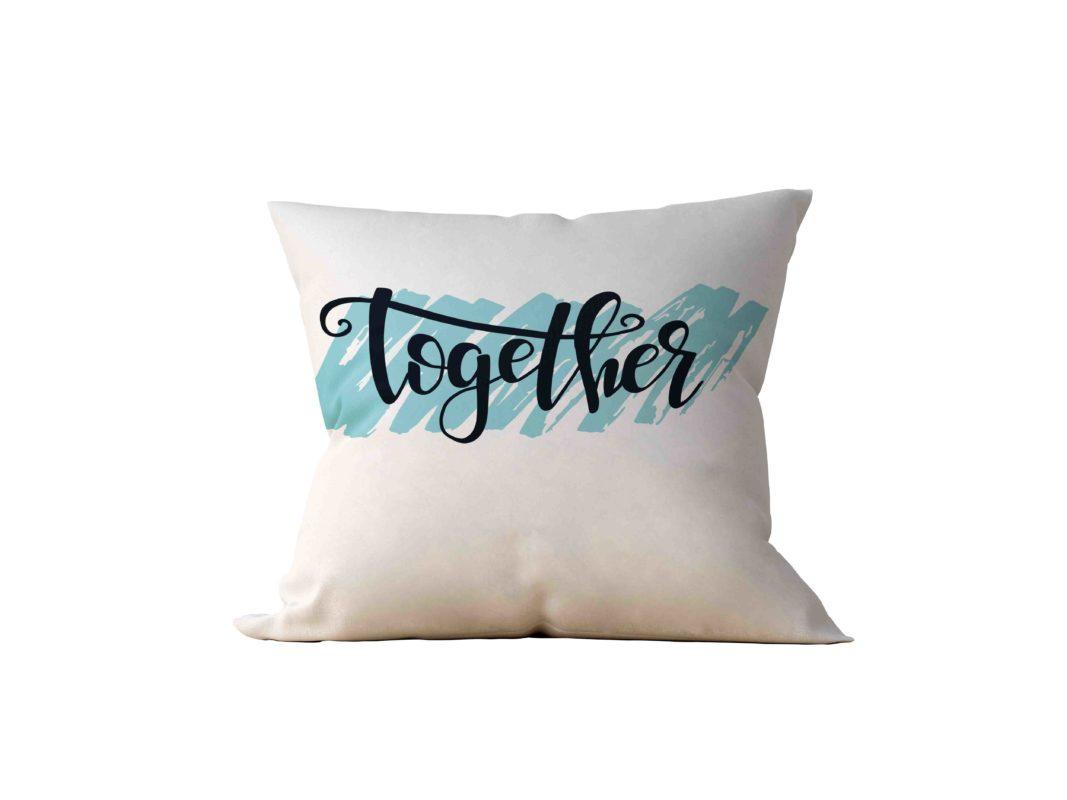 Almofada Decorativa Together - 45x45