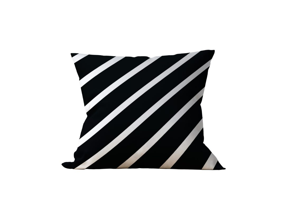 Almofada Decorativa Khumby Black - 45x45