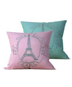 Kit: 2 Almofadas Decorativas Eiffel - 45x45