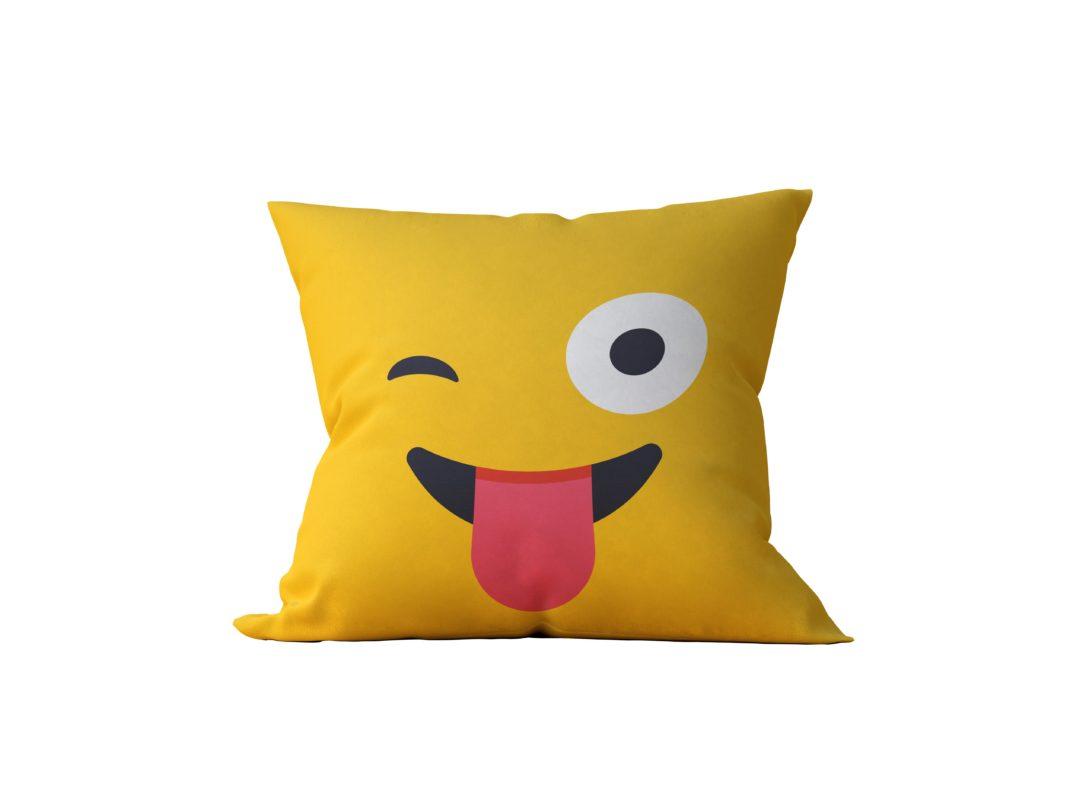 Almofada Decorativa Emoji - 45x45