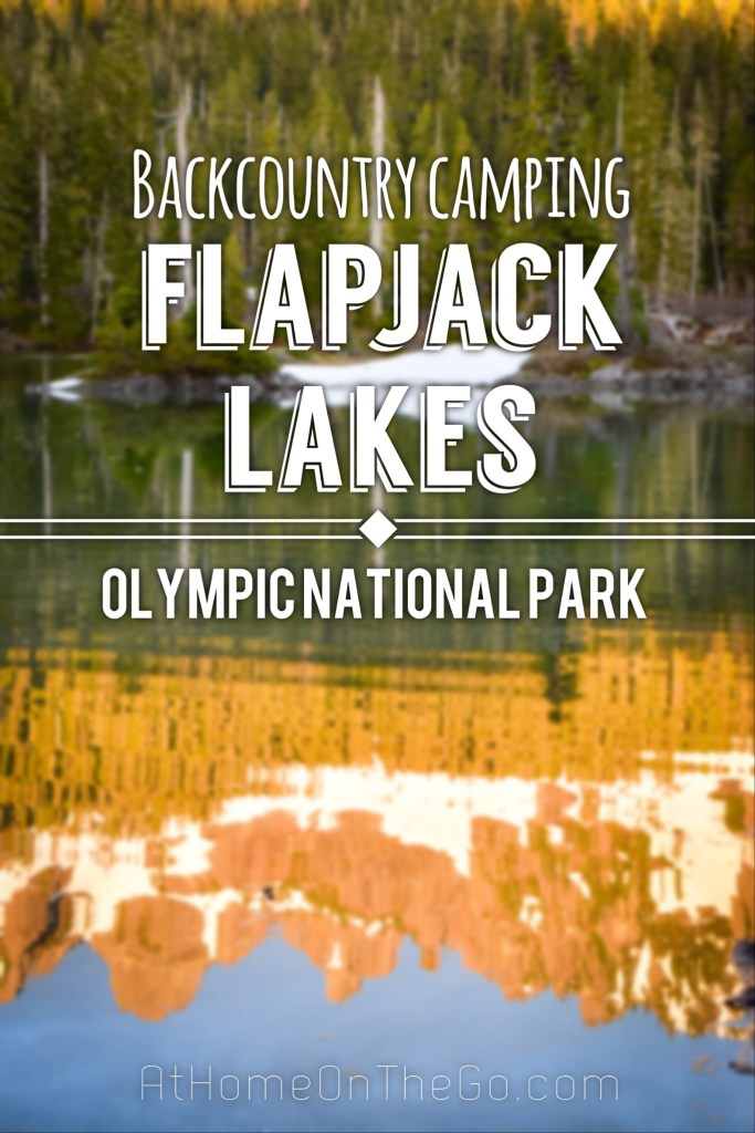 Epic sunsets and stunning sunrises at Flapjack Lakes in the Olympic National Park! You only get these with an overnight in the backcountry. So worth it!