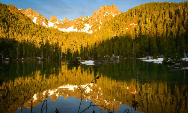Wilderness Camping at Flapjack Lakes, Olympic NP