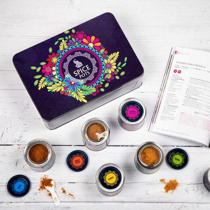 You are currently viewing Giveaway: Mothers Day Spice Pots Tin