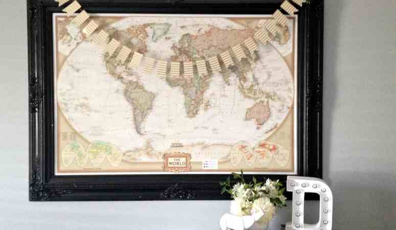How to make a World Travel Map
