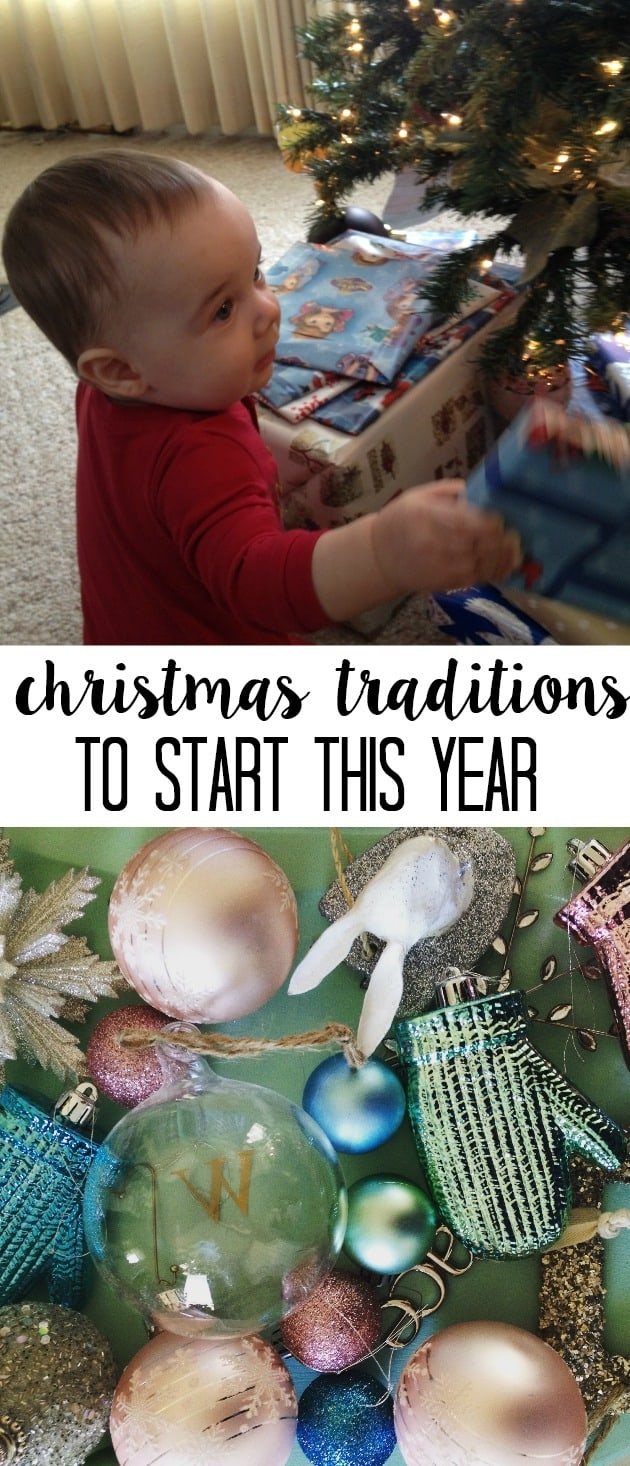 A list of fun Christmas traditions to start for your family that will fill your December with wonder. These ideas are great for kids and especially families with toddlers. My family loves number two!