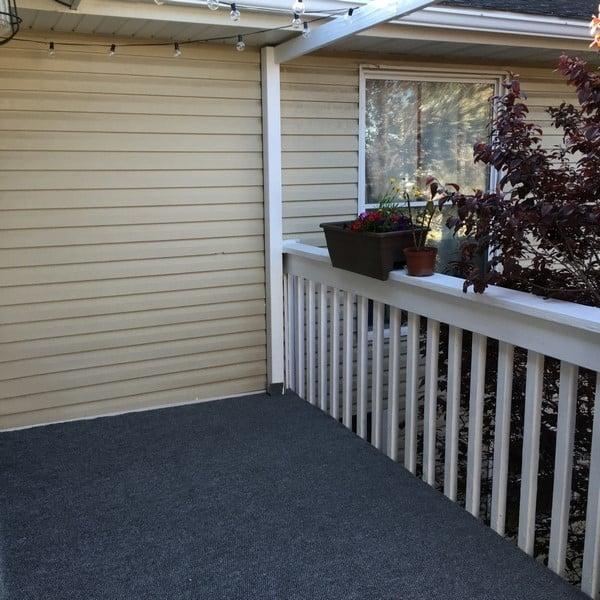 carpet installation deck one room challenge (3)