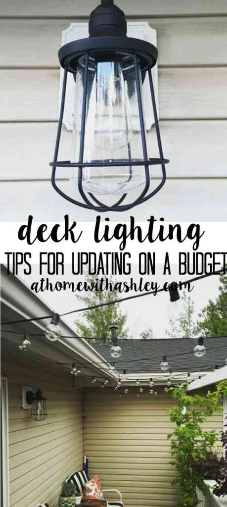 deck lighting tips for updating your outdoor space on a budget