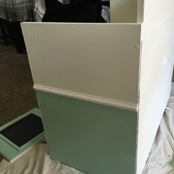 how to make a play kitchen from an entertainment center (24)