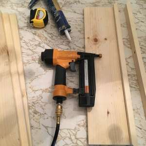 how to update your old patio furniture nail wood together