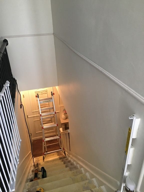 How To Install Picture Molding On Stairs At Home With Ashley