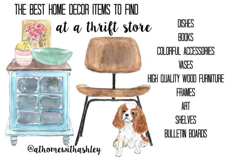Thrift Store Home Decor Shopping Tips. I am a girl who likes to decorate my house on a budget and what better way than buying second hand?! I share ideas and a few DIY's and my best tips so you too can be a thrift store home decor pro ;