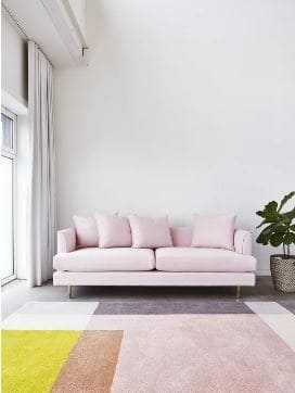 Astounding The Ultimate Blush Pink Sofa Roundup At Home With Ashley Interior Design Ideas Gentotthenellocom