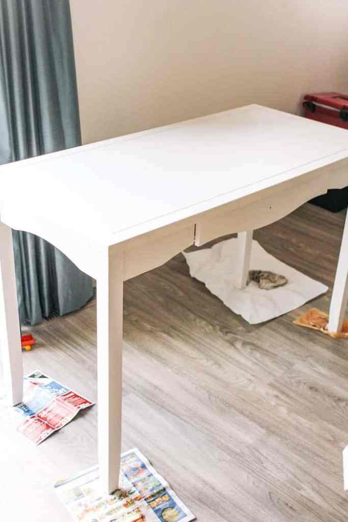 How To Paint Laminate Furniture At Home With Ashley