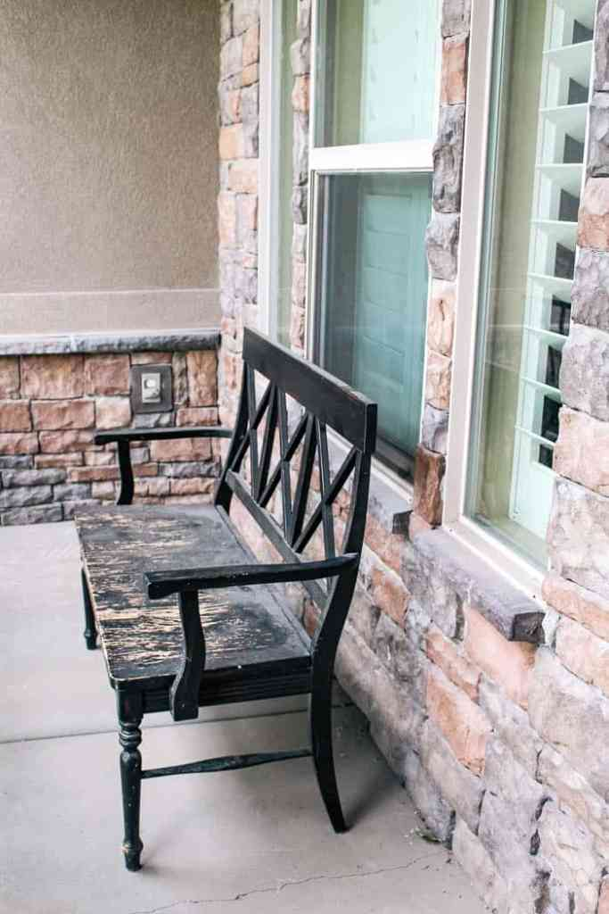 Pleasing Outdoor Bench Diy And Round Up At Home With Ashley Spiritservingveterans Wood Chair Design Ideas Spiritservingveteransorg