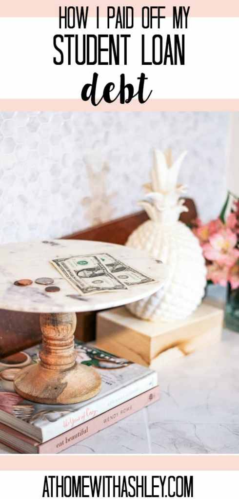 paying off student loans- the best tips and a payoff plan that'll work for getting out of debt. Plus a company to refinance with. This is a life hack you don't want to miss! How I paid off $20,000 in student loans in 2 years (and you can too)!