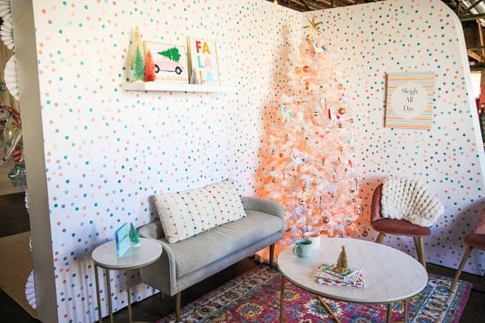 Create Celebrate Holiday Living Room At Home With Ashley