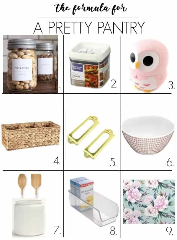 pantry redo prep. Small pantry organization ideas. Plus my formula for making your pantry Pinterest pretty! I share my layout for my walk in corner shelves and how I am going to make it a dream with a makeover!